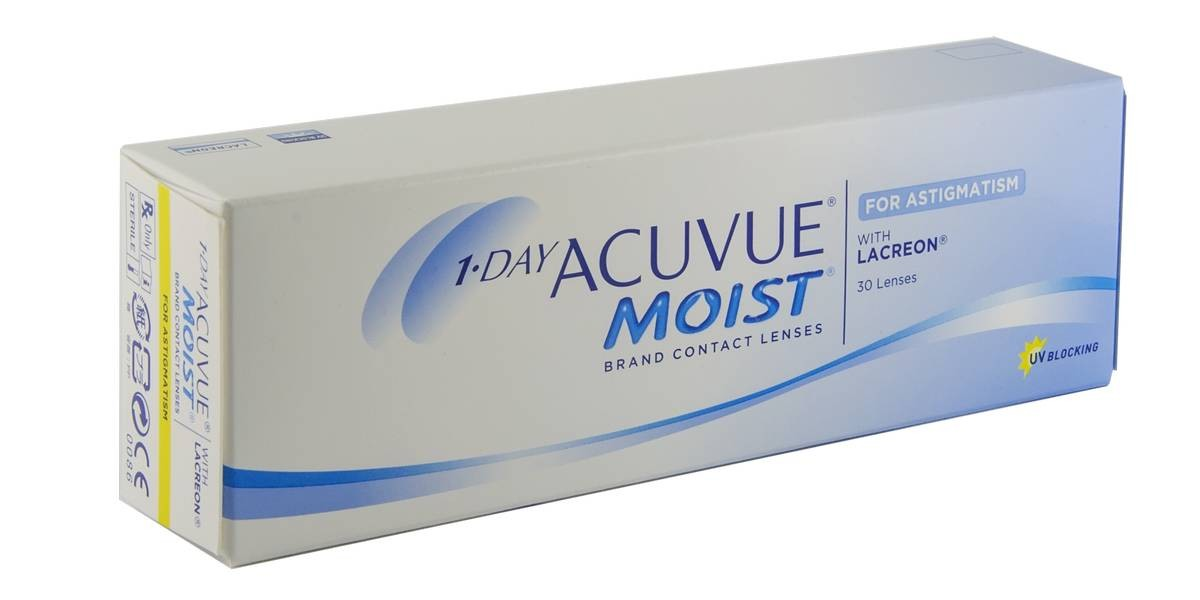 1-DAY ACUVUE MOIST ASTIGMATISM (30)