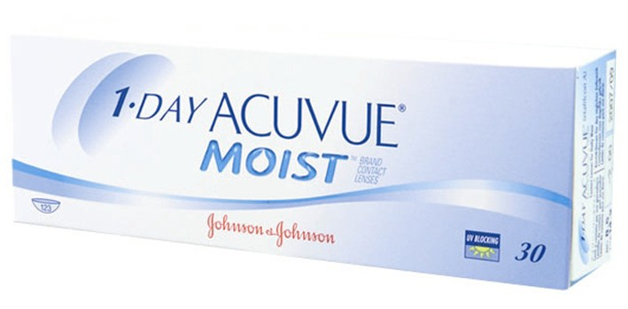 1-DAY ACUVUE MOIST(30)